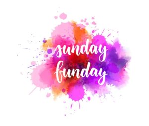 sunday-funday-handwritten-calligraphy-modern-lettering-text-abstract-watercolor-paint-splash-background-161267151